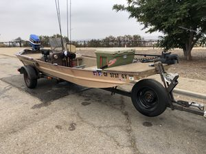 1975 Mon Ark Bass Boat 17ft 35mph $2000 for Sale in Long Beach, CA