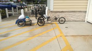 Three wheel bike with trailer as is for Sale in Kissimmee, FL