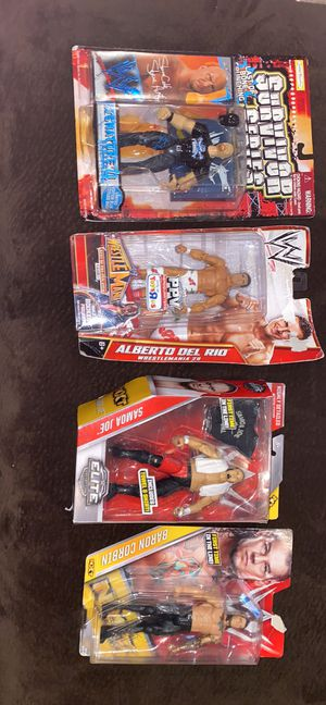 Wrestling Action Figures $18 each for Sale in Molalla, OR