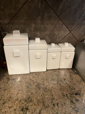 Cute countertop storage containers for Sale in Mercer Island, WA