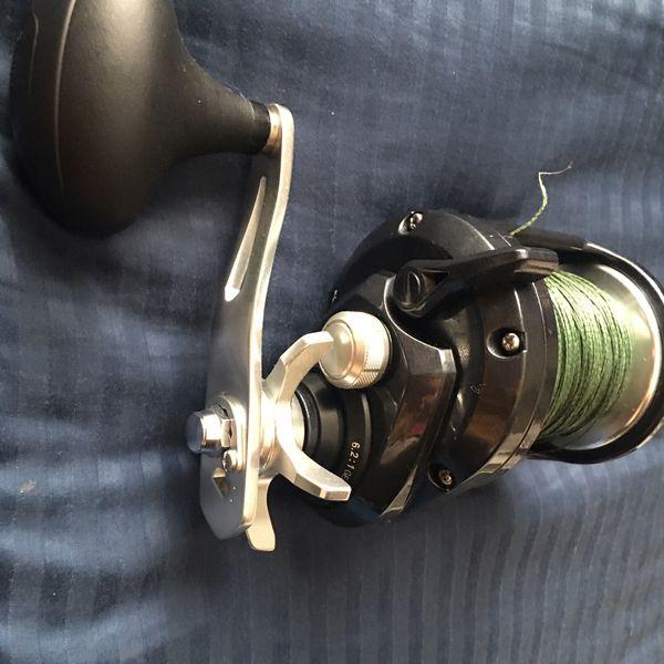 Torium 30HG Shimano Fishing Reel - Grouper Fishing 80 Pound Test Braid