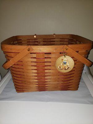 Longaberger Large Market Basket for Sale in Thomasville, PA