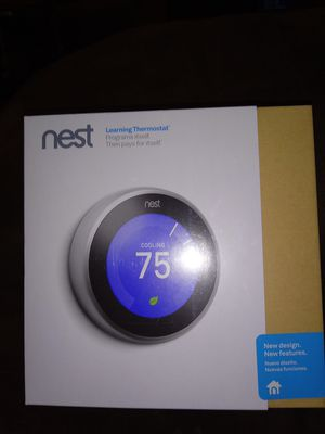 nest Learning Thermostat ITEM: T3007ES for Sale in Delaware, OH