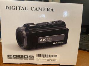 4K video camera for Sale in Buena Park, CA