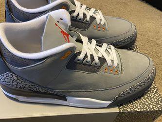 Cool Grey Jordan 3's for Sale in Durham,  NC
