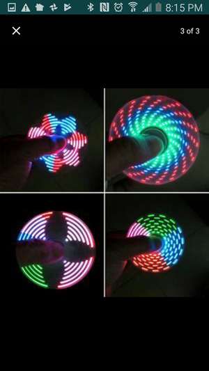 LED fidget spinner - Party favors - $8 each or $6 for more than 4 for Sale in Los Angeles, CA