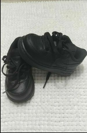 Nike Air Force 1 06 Infant/Toddler Shoe Size 5C (Black) for Sale in Silver Spring, MD