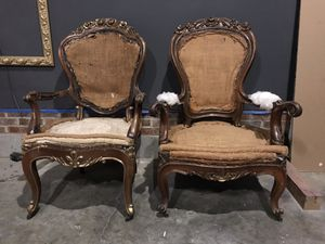 Victorian chairs...Beautiful for Sale in Apex, NC