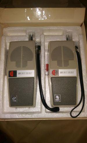 Antique GE walkie talkies for Sale in Hartford, CT