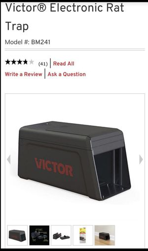 Victor new electric rat trap for Sale in Ontario, CA