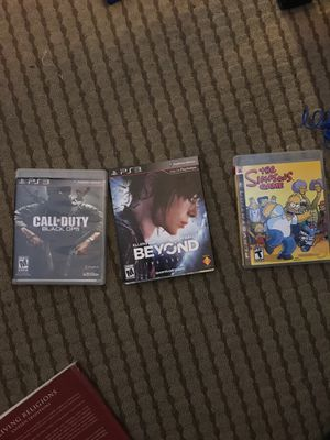 PS3 games for Sale in San Francisco, CA