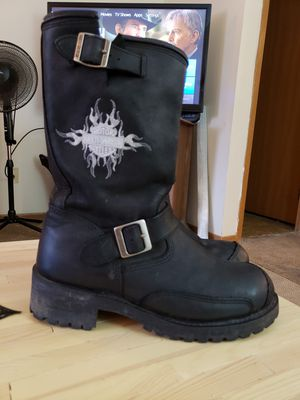 harley davidson boots (women's size 10) for Sale in Grove City, OH