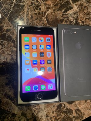 FACTORY UNLOCK IPHONE 7 Plus 32gb comes with original box , fair condition. PRICE IS FIRM PRICE IS FIRM PRICE IS FIRM PRICE IS FIRM THX for Sale in Bowie, MD