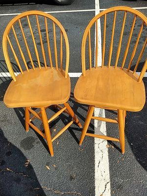 Two very nice well built bar stools for Sale in Marietta, GA