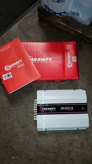 Taramps DS800x4 Amp for Sale in Ellenwood, GA