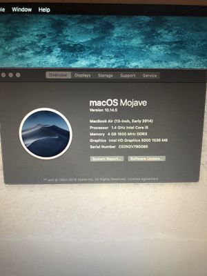 Apple MacBook Air - 13inch for Sale in St. Louis, MO