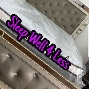NEW💥QUEEN BED💥MATTRESS INCLUDED💥IN STOCK💥💥 for Sale in Lynwood, CA