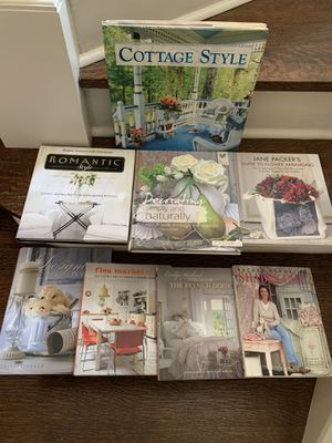 Shabby chic & vintage style decorating books for Sale in San Antonio, TX