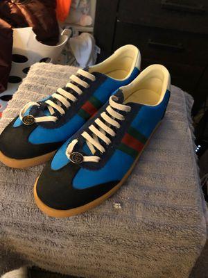 Gucci sneakers 300 OBO size 10 men for Sale in Nashville, TN