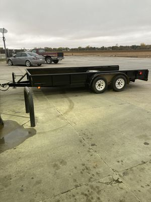 16' pipe top utility trailer for Sale in Fort Worth, TX