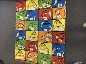 M&M Blanket Throw for Sale in St. Peters, MO