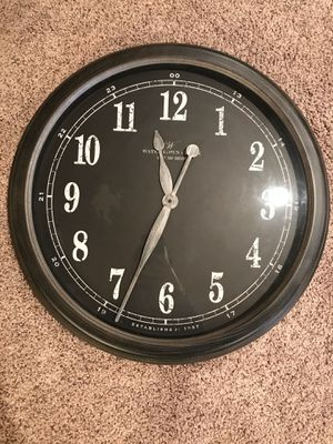 Large Black Clock for Sale in Ham Lake, MN