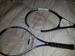 2 Hi End- Wilson Tennis Rackets for Sale in Bolingbrook, IL