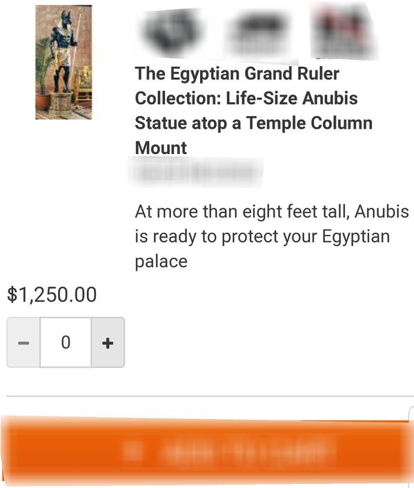 Anubis Statue (Beautiful) for Sale in Springdale, AR - OfferUp