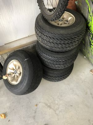 Golf cart Tires and hub caps for Sale in Medina, OH