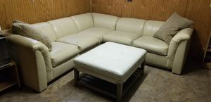 John M. Smithe Sectional with Ottoman for Sale in Chicago, IL