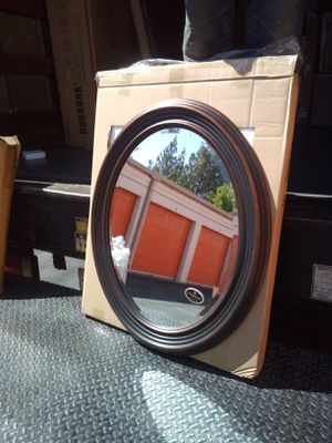 Round Oval Mirror New by Uttermost for Sale in Glendora, CA