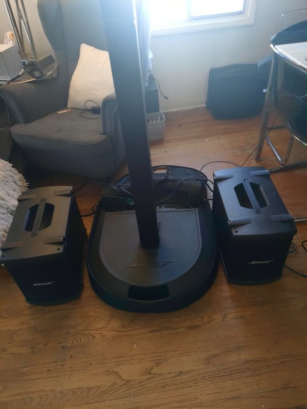 Bose l1 model 1 with 2 b1 subwoofer very loud system. $899