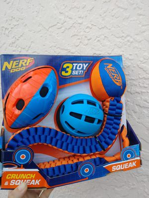New 3 piece dog toys set for Sale in Fort Myers, FL