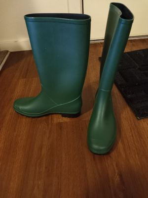 Nordstrom green rain boots for Sale in Longmont, CO