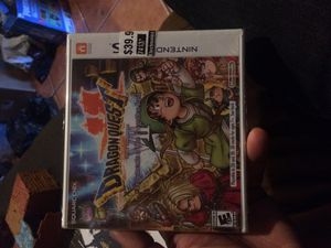 Dragon quest vii Nintendo 3ds brand new sealed for Sale in East Los Angeles, CA