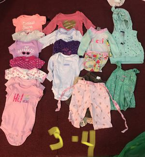 3 month girl clothes for Sale in Tonawanda, NY