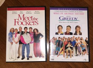 Two DVDs movie Meet the Fockers and Greedy for Sale in San Luis Obispo, CA