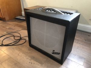 Sano guitar tube amp for Sale in Mount Angel, OR