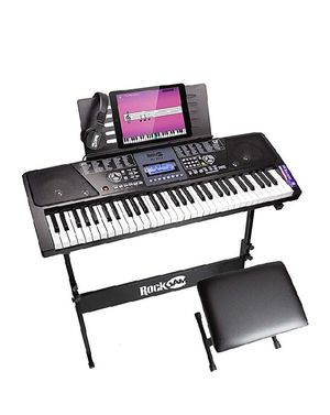 RockJam 61-Key Electronic Keyboard Piano SuperKit! 💫 for Sale in Clairton, PA