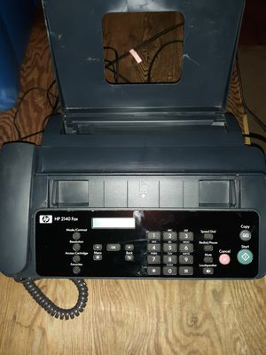 HP 2140 Fax machine ink jet for Sale in Alexandria, LA