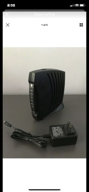Motorola SURFboard SB5101 Router Wireless Cable Modem for Sale in Carlsbad, CA