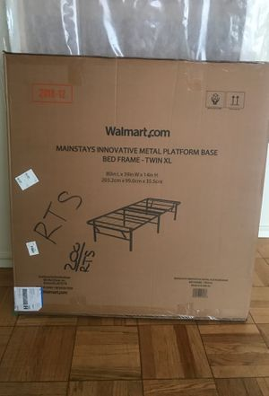 XL Twin Metal Bed Frame for Sale in San Francisco, CA