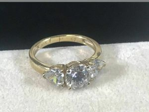 Solid 10k yellow gold ring size 7 for Sale in Los Angeles, CA