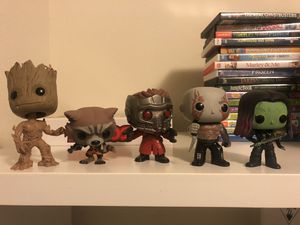 guardians of the galaxy pop vinyl marvel open no box for Sale in Humble, TX