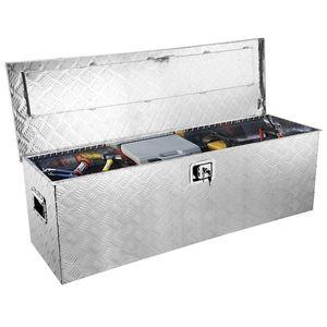 "New $120 Aluminum 49x15x15"" Tool Box Camper Organizer ATV Pickup Truck Bed RV Trailer Storage for Sale in Santa Fe Springs, CA"