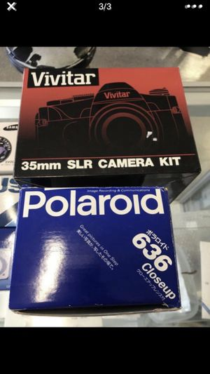 digital camera and SLR and film cameras new 7 camera total for Sale in Kissimmee, FL