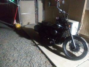 Honda shadow 750 blacked out straight pipes for Sale in Corona, CA