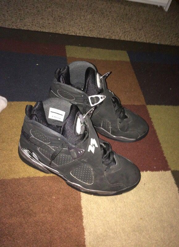 Jordan 8 chrome size 12