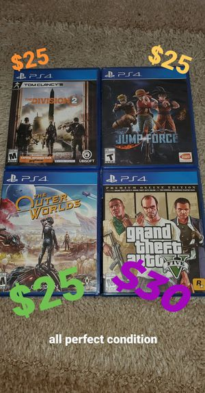 PS4 Video Games for Sale in Fresno, CA