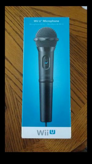Nintendo Wii U Microphone for Sale in Indianapolis, IN